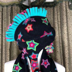 GAPKids scarf & Mohawk hat Hat is large/x-large